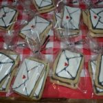 Valentine Day Envelope Cookies