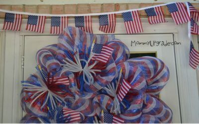 How to Make an Easy American Flag Banner