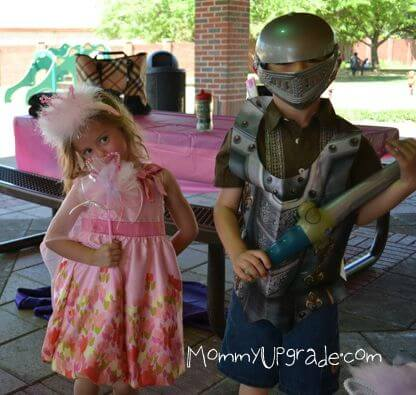 princess and knight party kids party themes mommyupgrade com