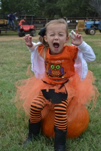 scary pumpkin hunter