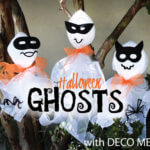 deco mesh ghosts
