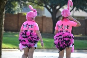 flamingos 3 day walk for a cure