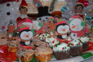 north pole breakfast sweets