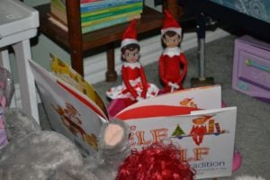 elf on a shelf ideas story time
