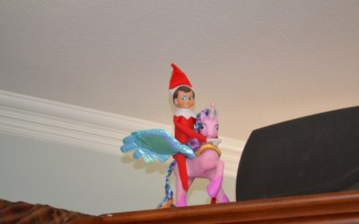 Elf on a Shelf: Day 20 My Little Pony