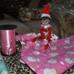 Elf on a Shelf Mischief: Day 24 Wrapping it Up