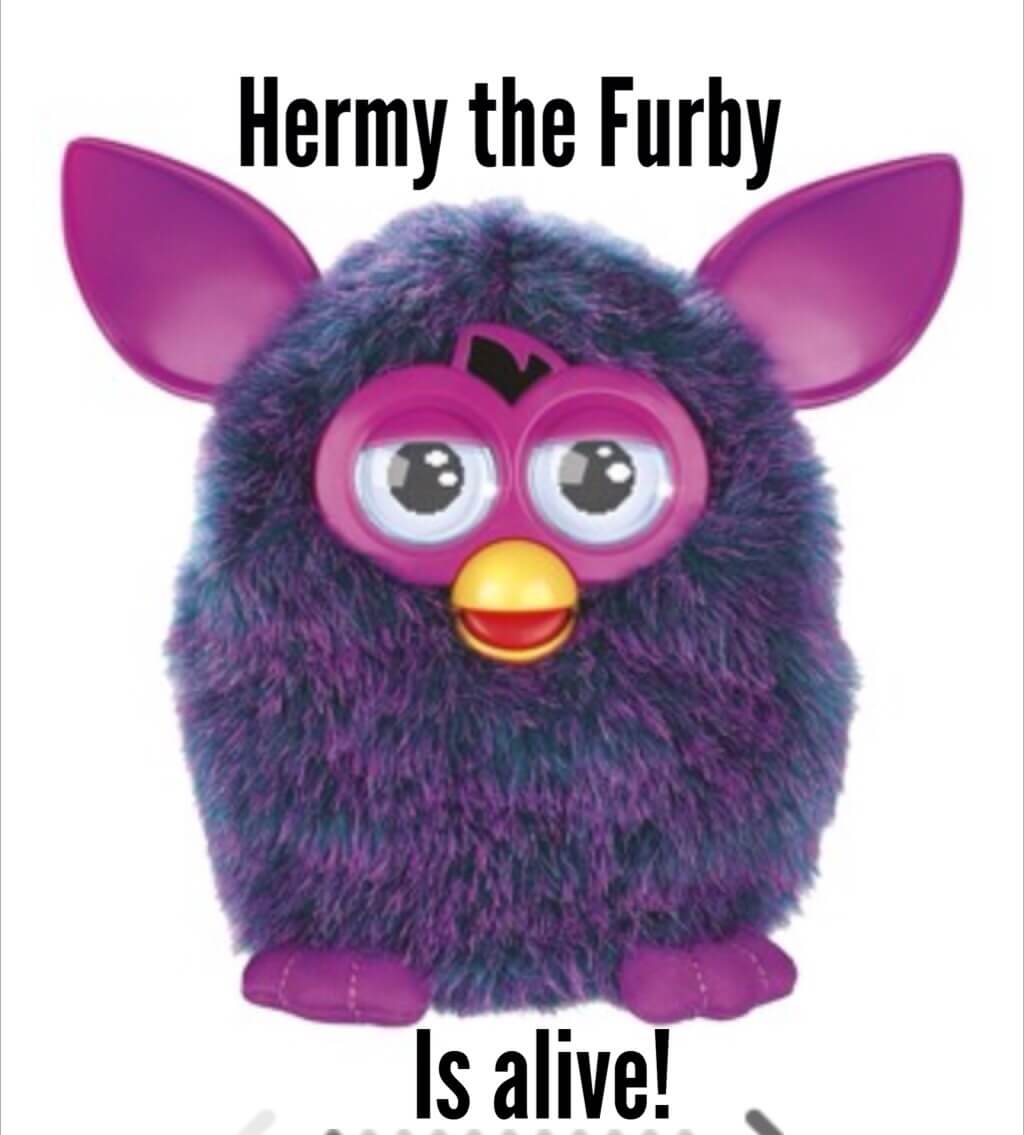 how to wake up a furby