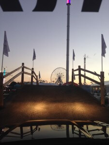 sunset at the state fair of texas