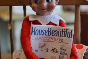Even elves love to upcycle furniture
