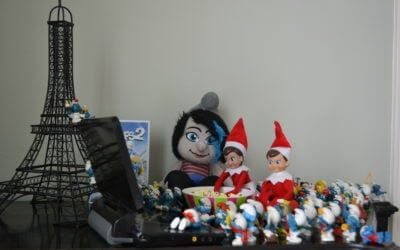 Elf on Shelf and Smurf Party – Hat Bonding