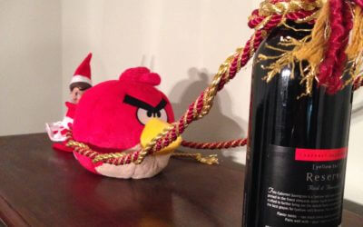 Angry Birds Elf Edition