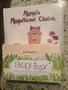 Margo's Magnificent Choice  - tacky box