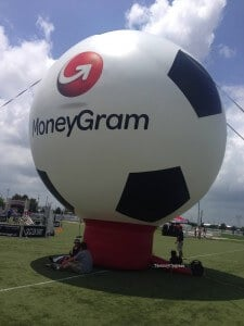 moneygram balloon at nations cup