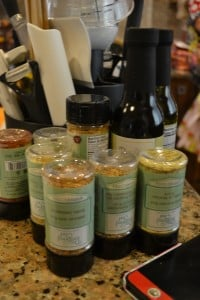 pampered chef spices for freezer meal workshop