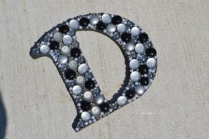 how to make a mosaic letter