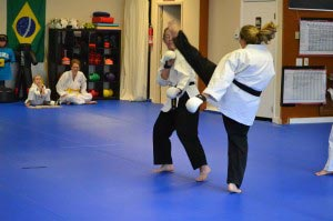 Elizabeth Treger black belt