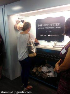 donate a bra at the lifttour