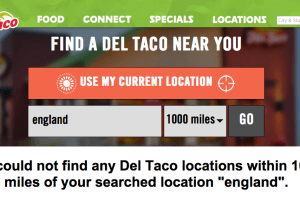 If only Britain had a Del Taco