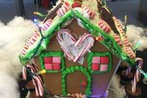 Gingerbread House Wars, aka the Reliant Lights Contest