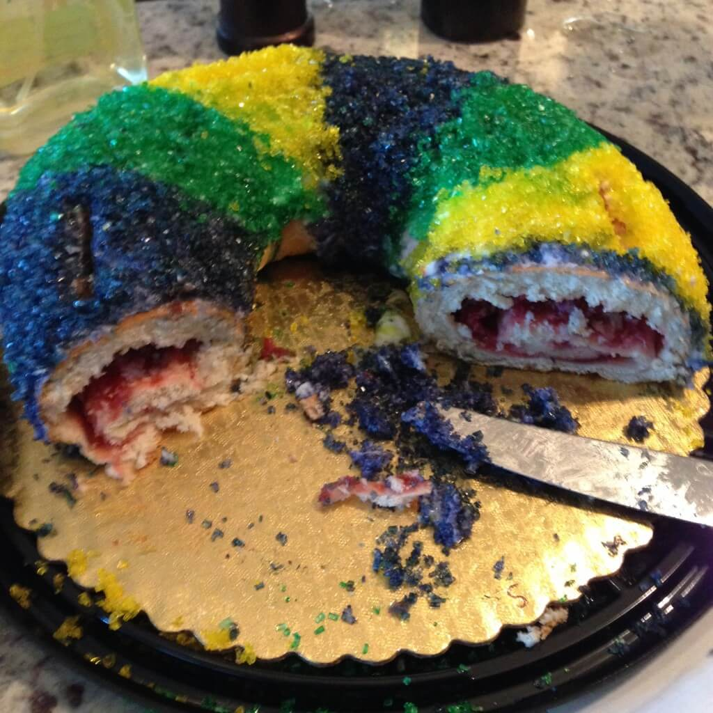 grocery store king cake