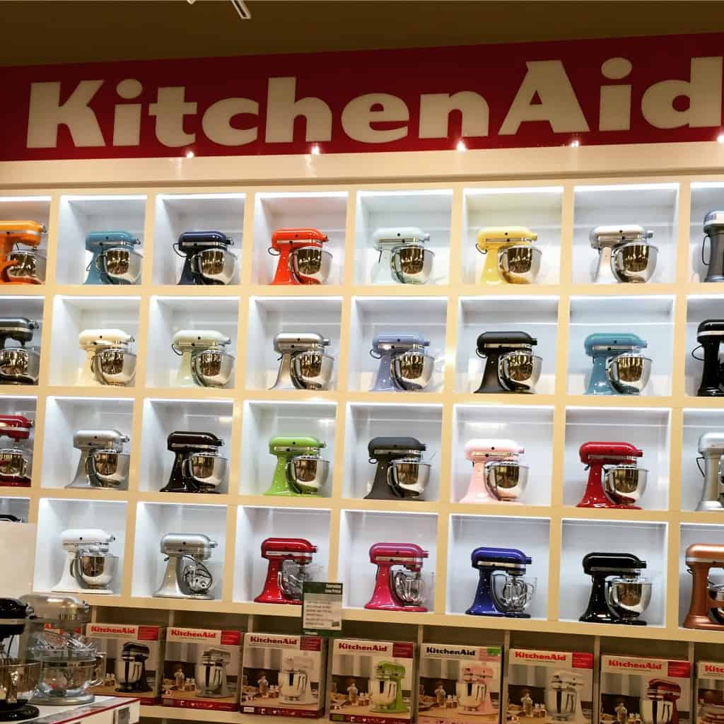 Kitchen aid mixers at nebraska furniture mart
