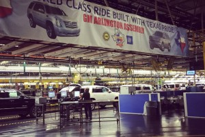 Inside the GM Manufacturing Plant in Arlington, Texas
