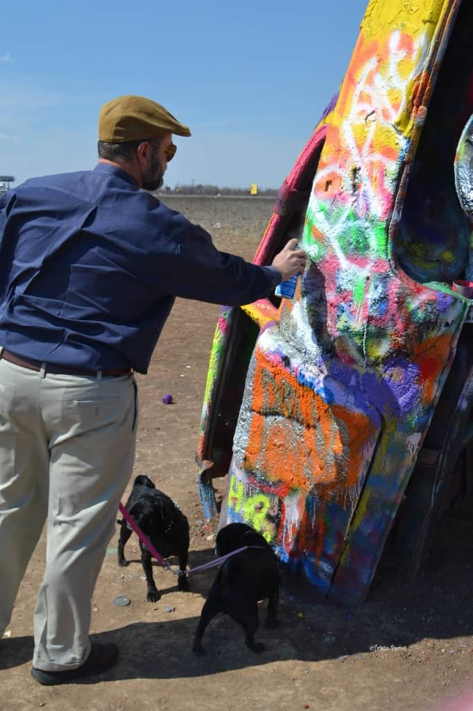 family fun at cadillac ranch