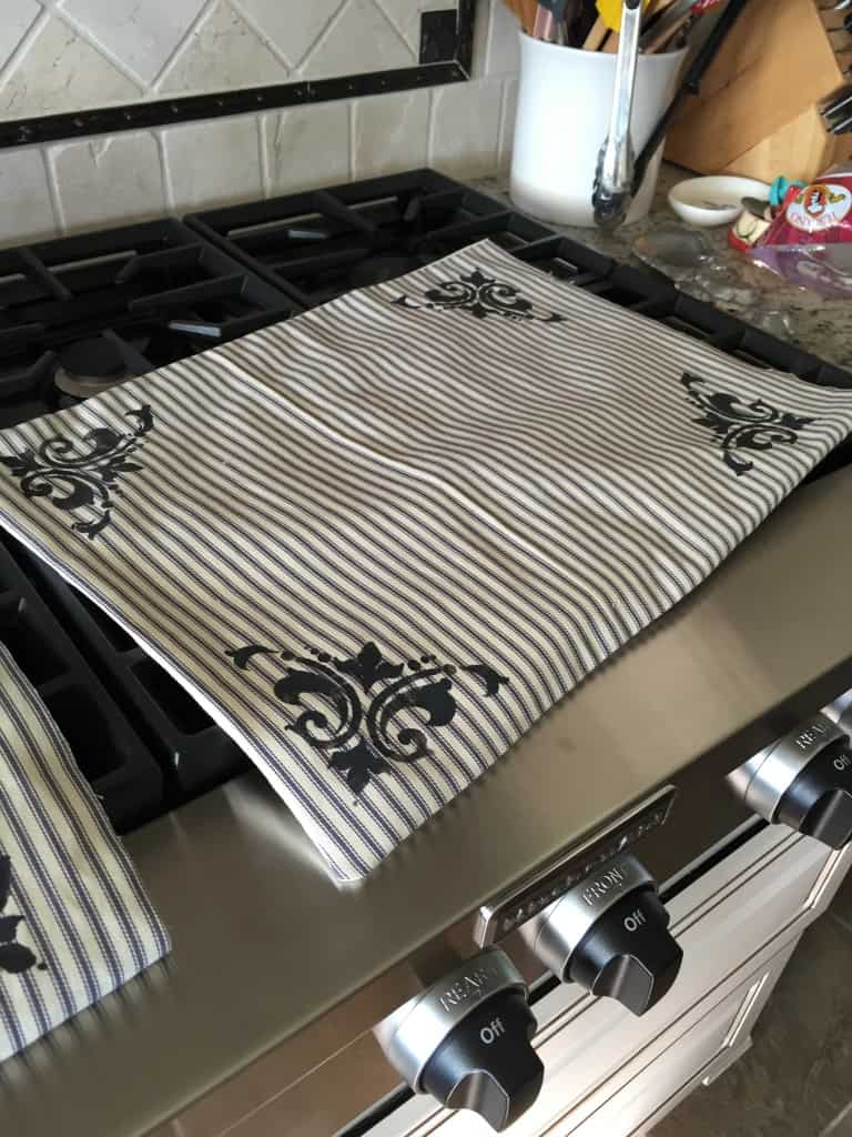 french country placemats diy