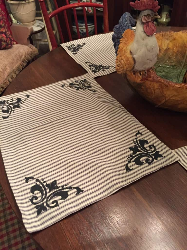 placemats project
