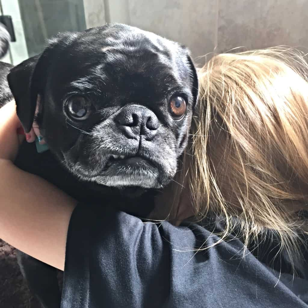 too many hugs