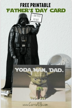 star wars free printable for fathers day