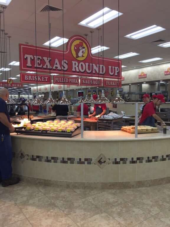 Buc-ee's Terrell Meat station