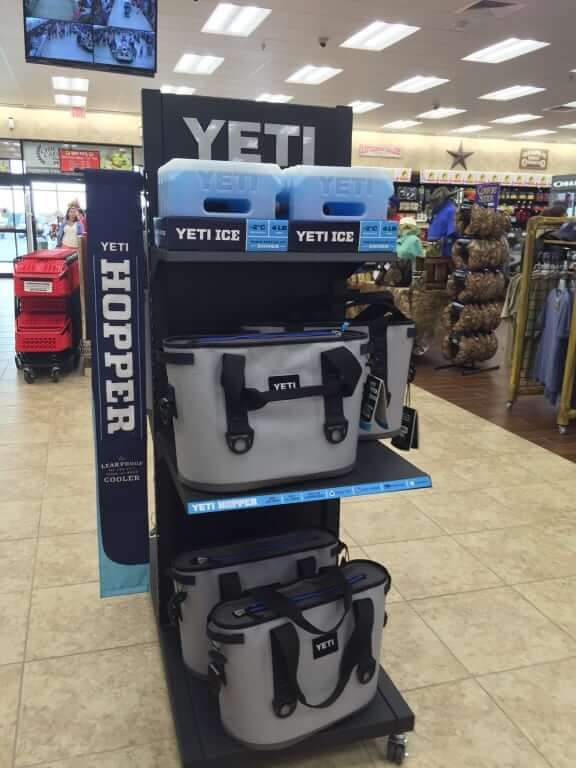 Yeti coolers at Buc-ee's Terrell
