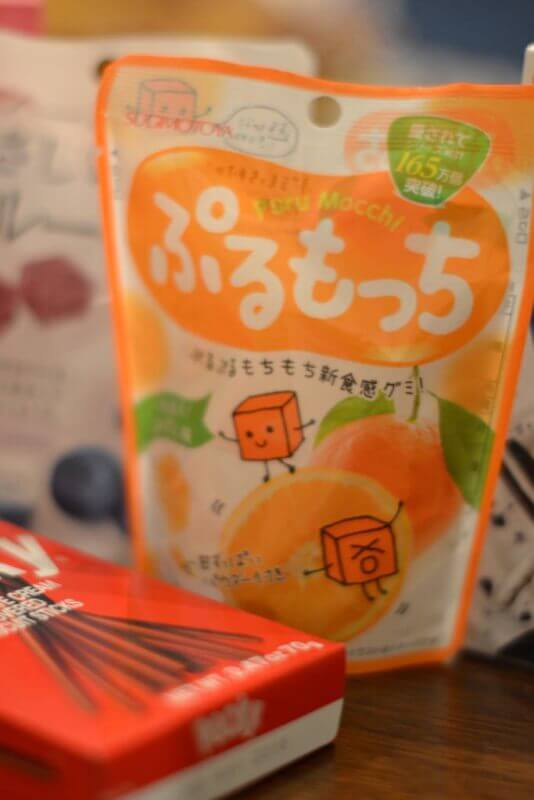 mandarin orange dummies from DAISO