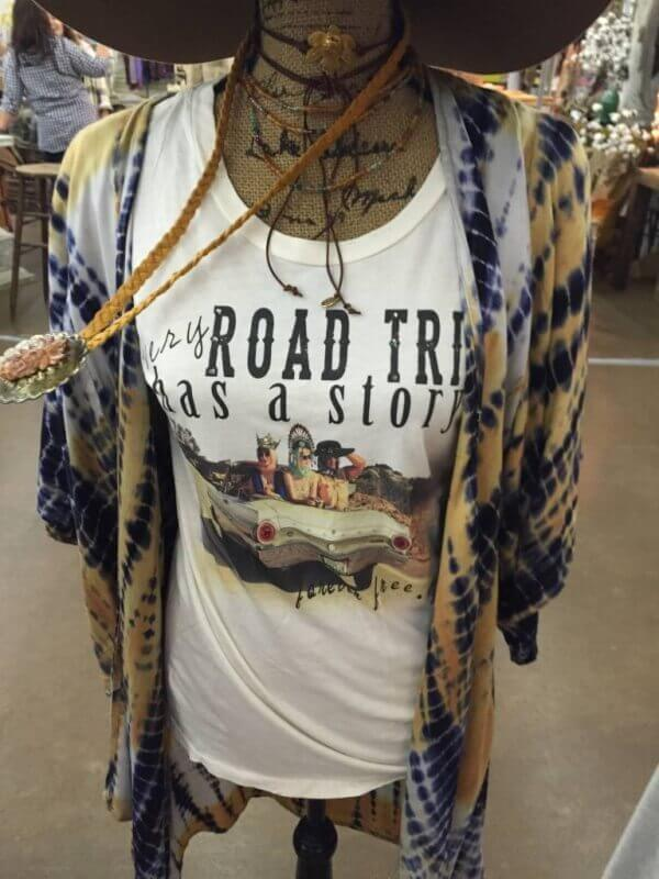 Every road trip has a story shirt at the brave bohemian