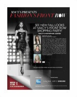 You're Invited to Macy's Fashion Front Row Event