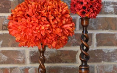 The Look for Less: DIY Flower Pumpkin