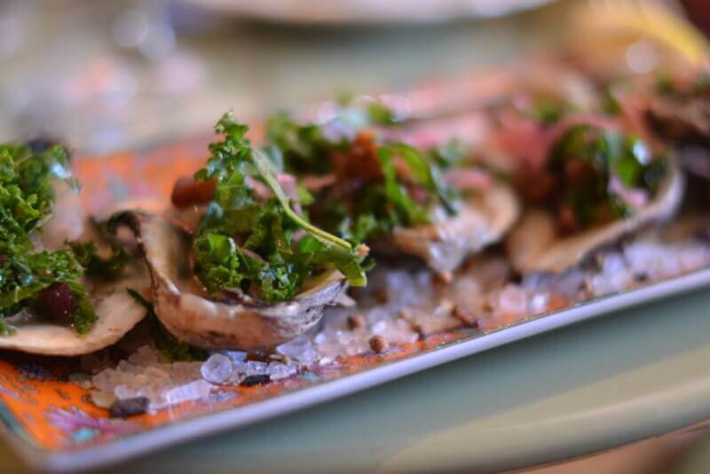 Pecan Wood Roasted Oysters