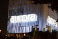 Aurora by Reliant NRG Lights Up Downtown Dallas