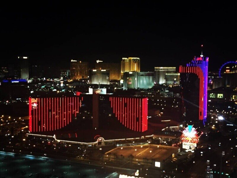 View from The Palms Casino & Resort Las Vegas