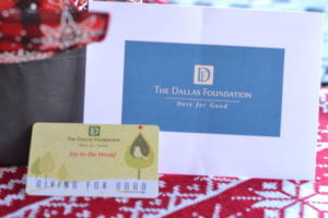 giving for good from dallas foundation