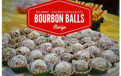 No-bake Chocolate Bourbon Balls Recipe