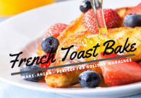 Make Ahead Holiday French Toast Breakfast Bake