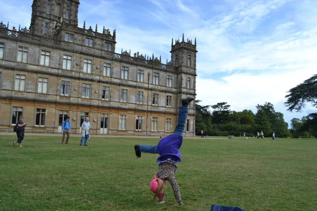 Cartwheels at Highclere