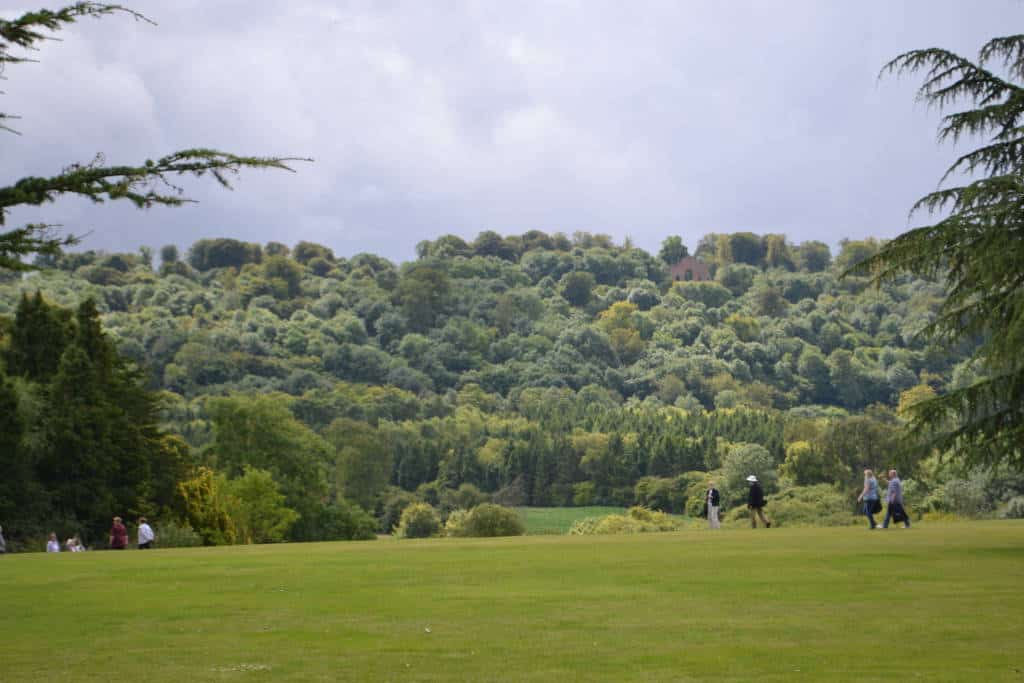 view from Highclere Castle