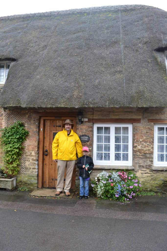 thatched roof house in brampton