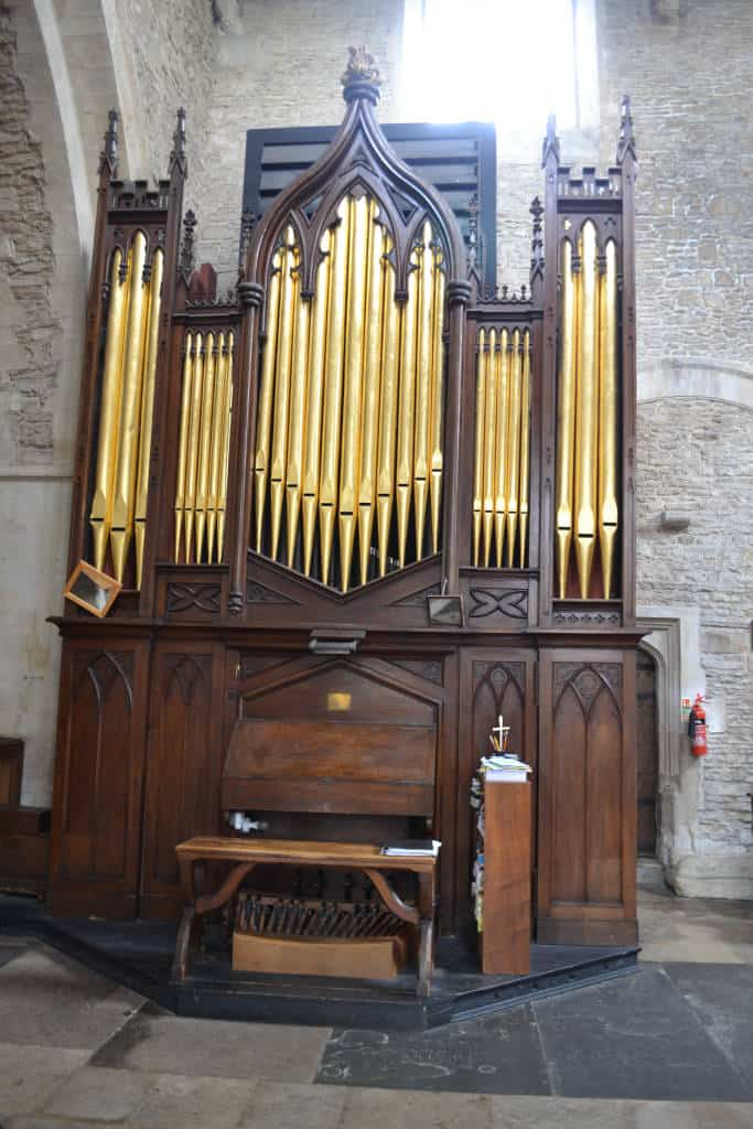 organ in brampton church