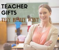 Teacher Gifts: The truth about what teachers really want