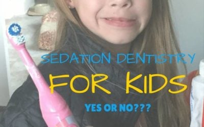 Not sure how I feel about dental sedation for my kid's cavity treatment