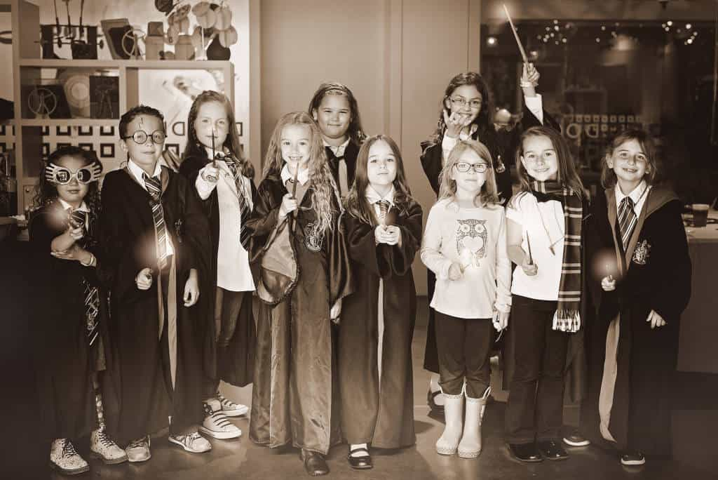 harry potter party guests